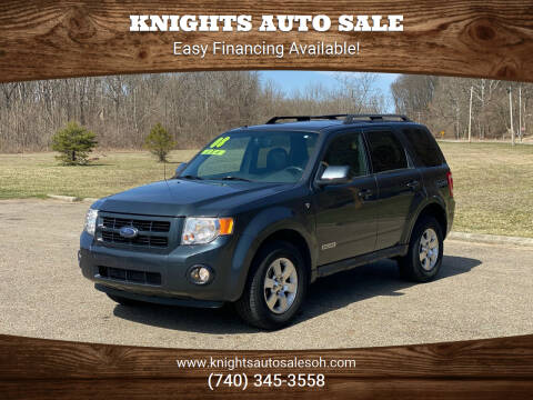 2008 Ford Escape for sale at Knights Auto Sale in Newark OH