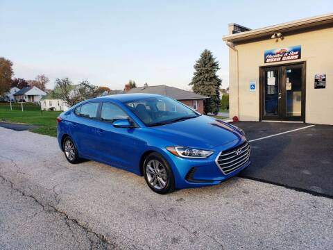 2017 Hyundai Elantra for sale at Hackler & Son Used Cars in Red Lion PA