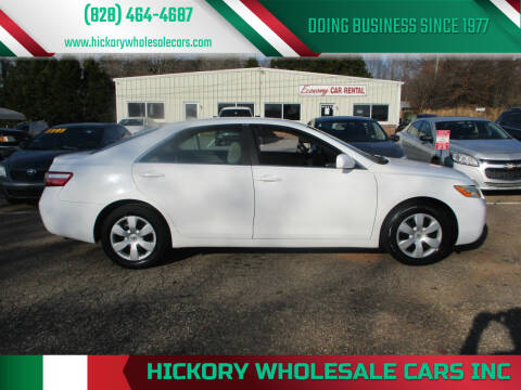 2007 Toyota Camry for sale at Hickory Wholesale Cars Inc in Newton NC
