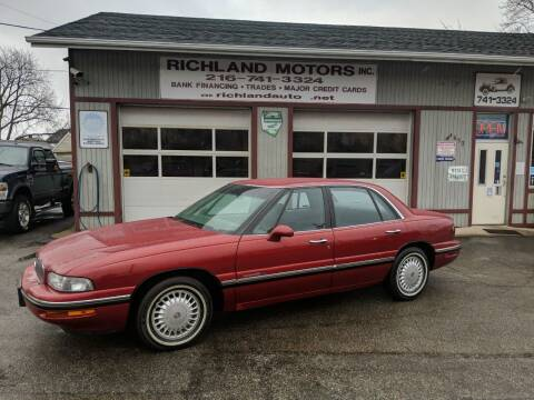 1998 Buick LeSabre for sale at Richland Motors in Cleveland OH