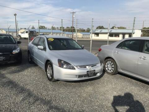 2005 Honda Accord for sale at Velascos Used Car Sales in Hermiston OR