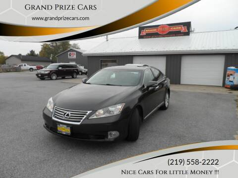 2011 Lexus ES 350 for sale at Grand Prize Cars in Cedar Lake IN