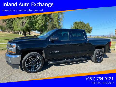 2018 Chevrolet Silverado 1500 for sale at Inland Auto Exchange in Norco CA