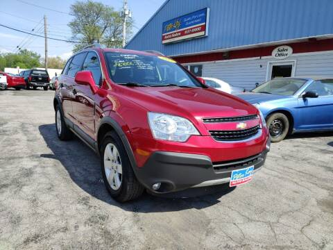 2012 Chevrolet Captiva Sport for sale at Peter Kay Auto Sales in Alden NY