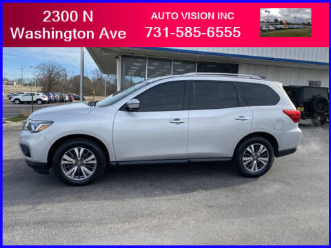 2017 Nissan Pathfinder for sale at Auto Vision Inc. in Brownsville TN