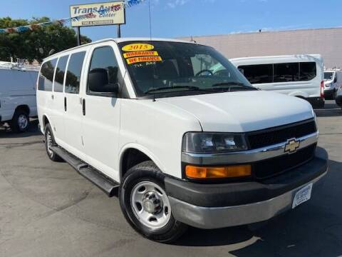 2015 Chevrolet Express Passenger for sale at Auto Wholesale Company in Santa Ana CA