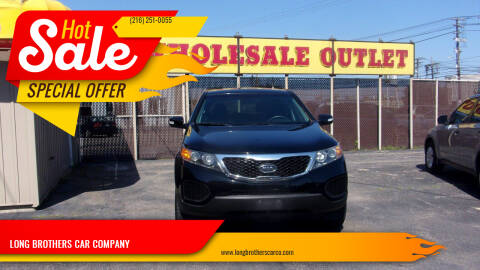 2012 Kia Sorento for sale at LONG BROTHERS CAR COMPANY in Cleveland OH