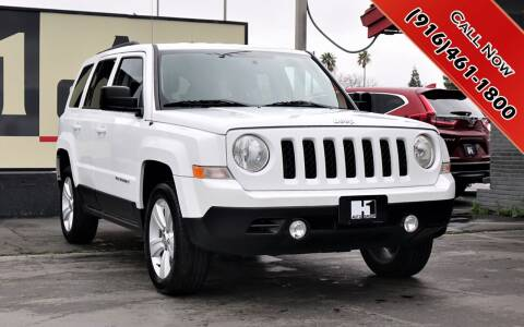 2016 Jeep Patriot for sale at H1 Auto Group in Sacramento CA