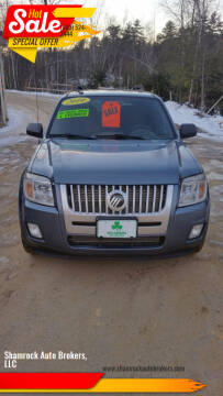 2010 Mercury Mariner for sale at Shamrock Auto Brokers, LLC in Belmont NH