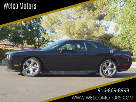 2013 Dodge Challenger for sale at Welco Motors in Rancho Cordova CA
