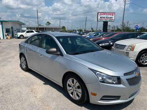2012 Chevrolet Cruze for sale at Jamrock Auto Sales of Panama City in Panama City FL