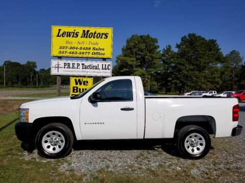 2011 Chevrolet Silverado 1500 for sale at Lewis Motors LLC in Deridder LA