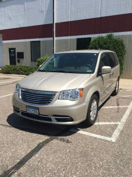 2016 Chrysler Town and Country for sale at Specialty Auto Wholesalers Inc in Eden Prairie MN