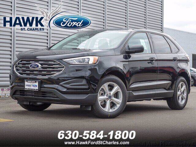 2021 Ford Edge for sale at Hawk Ford of St. Charles in Saint Charles IL