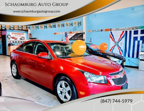 2014 Chevrolet Cruze for sale at Schaumburg Auto Group in Schaumburg IL