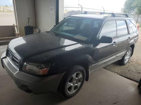 2004 Subaru Forester for sale at PYRAMID MOTORS - Pueblo Lot in Pueblo CO