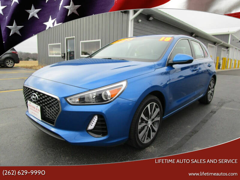 2018 Hyundai Elantra GT for sale at Lifetime Auto Sales and Service in West Bend WI