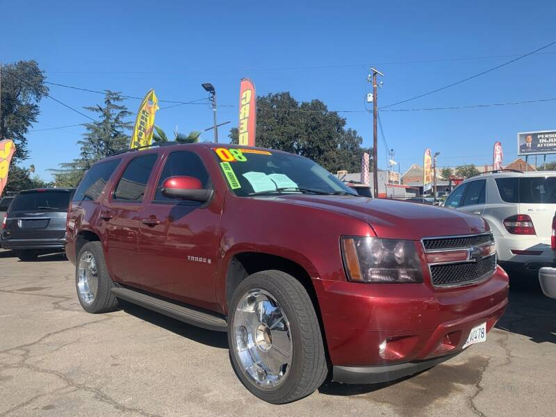 2008 Chevrolet Tahoe for sale at Victory Auto Sales in Stockton CA