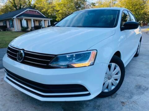 2016 Volkswagen Jetta for sale at Cobb Luxury Cars in Marietta GA