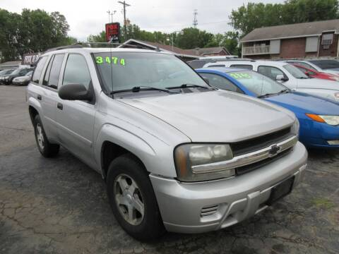 2006 Chevrolet TrailBlazer for sale at Fox River Motors, Inc in Green Bay WI