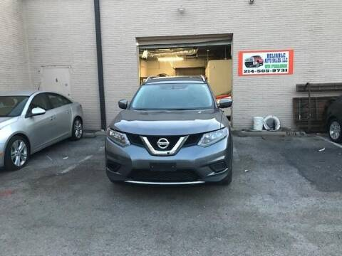 2016 Nissan Rogue for sale at Reliable Auto Sales in Plano TX