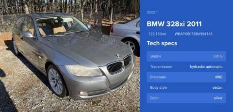2011 BMW 3 Series for sale at T-O-G Auto Sales, LLC. in Jonesboro GA