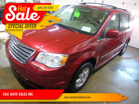 2010 Chrysler Town and Country for sale at C&C AUTO SALES INC in Charles City IA