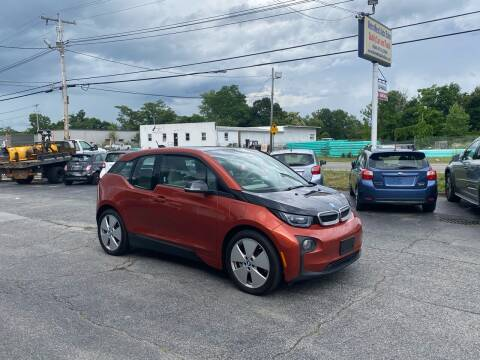 2015 BMW i3 for sale at MetroWest Auto Sales in Worcester MA