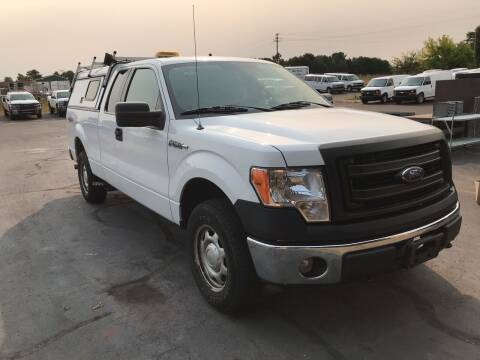 2013 Ford F-150 for sale at CARGO VAN GO.COM in Shakopee MN