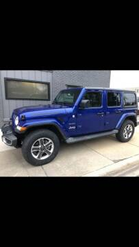 2018 Jeep Wrangler Unlimited for sale at Adrenaline Motorsports Inc. in Saginaw MI