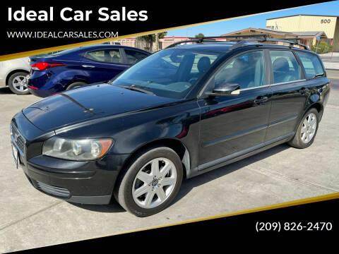 2006 Volvo V50 for sale at Ideal Car Sales in Los Banos CA