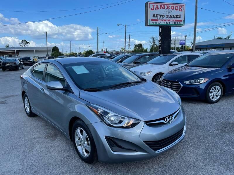 2015 Hyundai Elantra for sale at Jamrock Auto Sales of Panama City in Panama City FL
