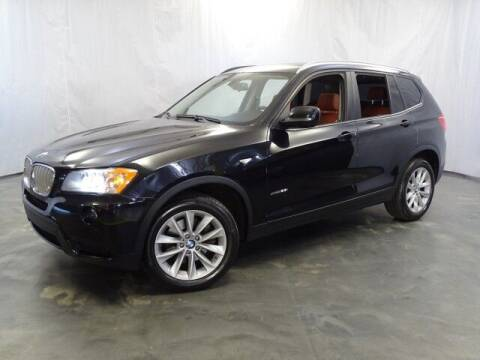2013 BMW X3 for sale at United Auto Exchange in Addison IL
