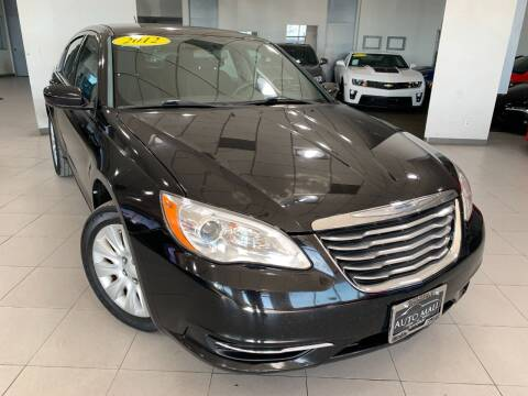 2012 Chrysler 200 for sale at Auto Mall of Springfield north in Springfield IL