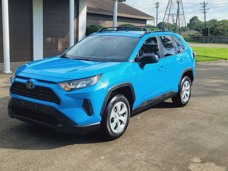 2019 Toyota RAV4 for sale at MOTORSPORTS IMPORTS in Houston TX