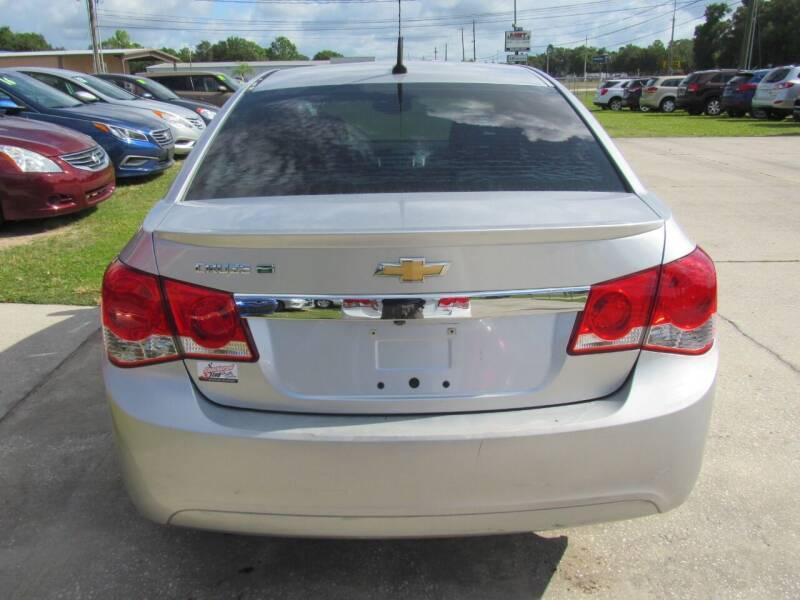 2014 Chevrolet Cruze ECO Manual 4dr Sedan w/1SE - Lakeland FL