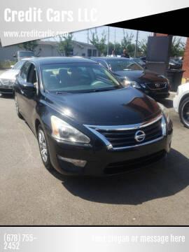 2013 Nissan Altima for sale at Credit Cars LLC in Lawrenceville GA