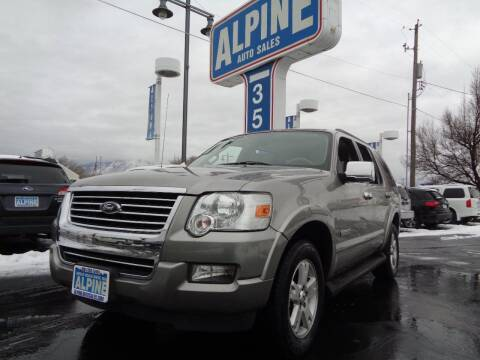 2008 Ford Explorer for sale at Alpine Auto Sales in Salt Lake City UT