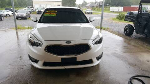 2014 Kia Cadenza for sale at Auto Guarantee, LLC in Eunice LA