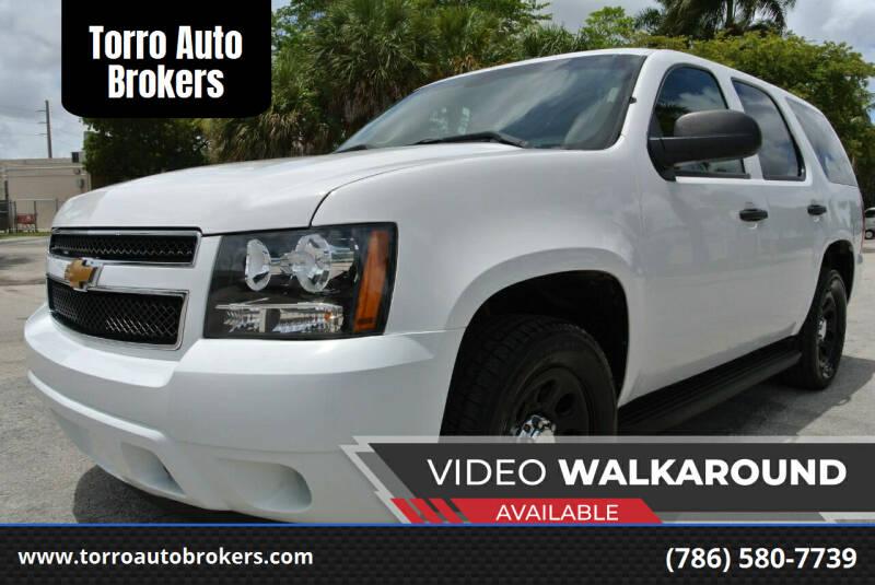 2013 Chevrolet Tahoe for sale at Torro Auto Brokers in Miami FL