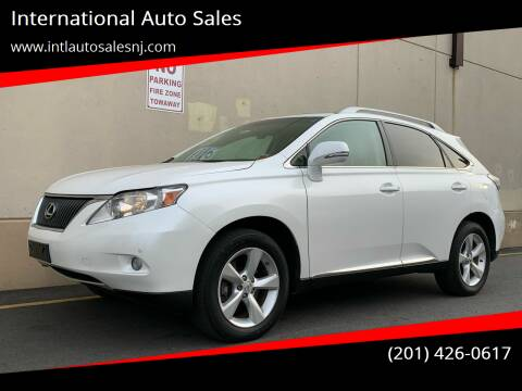 2010 Lexus RX 350 for sale at International Auto Sales in Hasbrouck Heights NJ