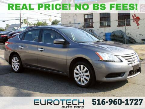 2015 Nissan Sentra for sale at EUROTECH AUTO CORP in Island Park NY