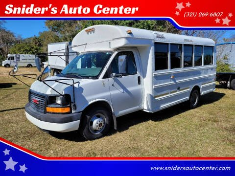 2005 GMC Savana Cutaway for sale at Snider's Auto Center in Titusville FL