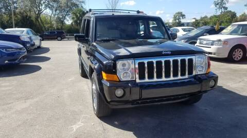 2009 Jeep Commander for sale at FAMILY AUTO BROKERS in Longwood FL