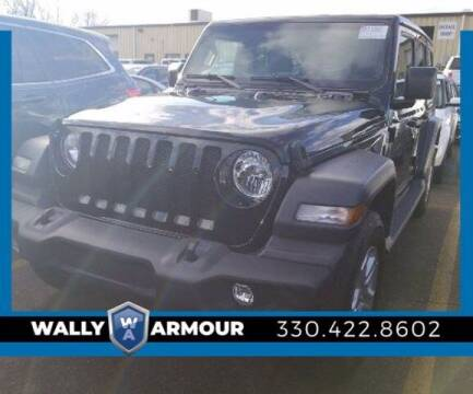 2018 Jeep Wrangler Unlimited for sale at Wally Armour Chrysler Dodge Jeep Ram in Alliance OH
