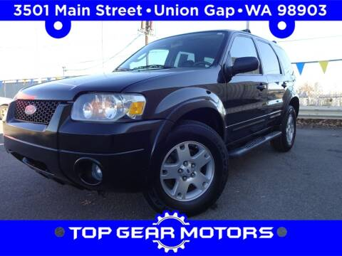 2006 Ford Escape for sale at Top Gear Motors in Union Gap WA