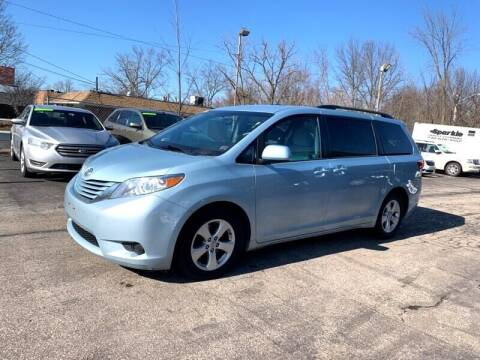 2015 Toyota Sienna for sale at Ohio Auto Connection Inc in Maple Heights OH
