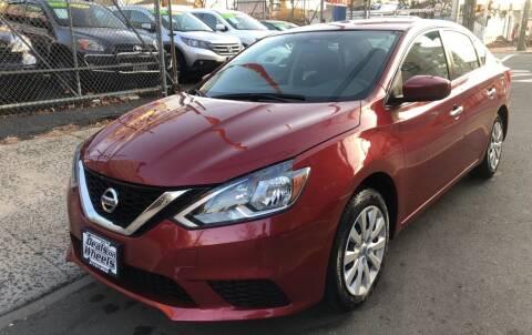 2016 Nissan Sentra for sale at DEALS ON WHEELS in Newark NJ