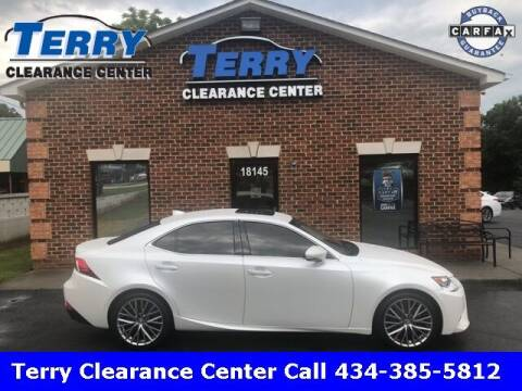 2016 Lexus IS 200t for sale at Terry Clearance Center in Lynchburg VA