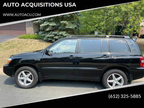 2006 Toyota Highlander for sale at AUTO ACQUISITIONS USA in Eden Prairie MN